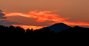 3 Fire in the Sky -- Elk Country Sunset