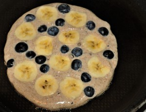 2 Banana - blueberry