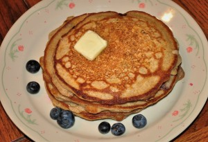 3 Buckwheat-banana-blueberry Short Stack